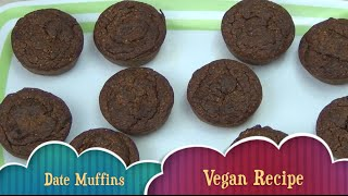 Banana Date Muffins Vegan Cheekyricho Thermochef Video Recipe