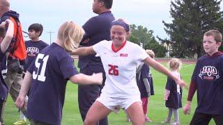 Illini Soccer: 100 Kids vs. Illinois Soccer