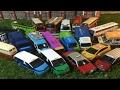 21 modelos diferentes de Tiny City Diecast Hong Kong coche 02686 es