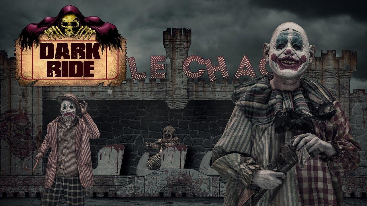 dark ride - new knott's scary farm 2017 maze - youtube