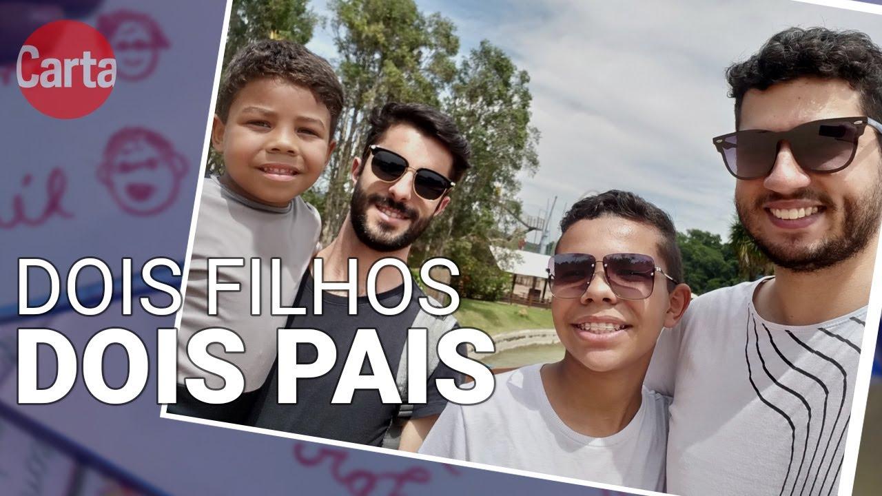 DOIS FILHOS, DOIS PAIS   Pais LGBTs relatam a experiência da adoção