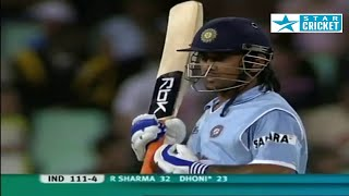 MS Dhoni 45 off 33 vs South Africa | T20 World Cup 2007 | IND vs SA Durban