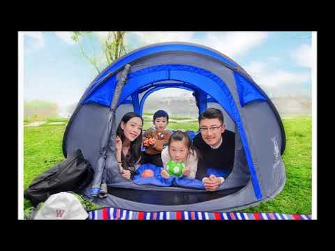 ТОП 5 кемпинговых палаток  больших на Алиэкспресс  3 4 местных недорого высокого качества