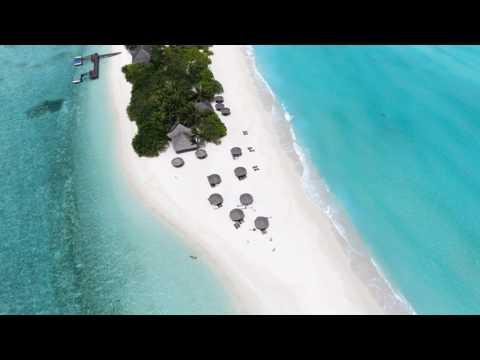 Palm Beach Resort & Spa - Maldives - dron flyover (long)