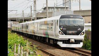 【4K】E257系0番台 特急「新宿さざなみ1号」