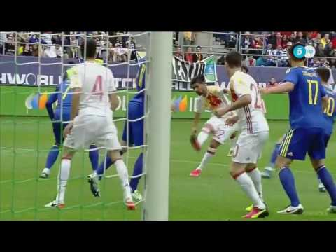 SPAIN vs BOSNIA-HERZEGOVINA 3-1 All Goals & Highlights 29-05-2016