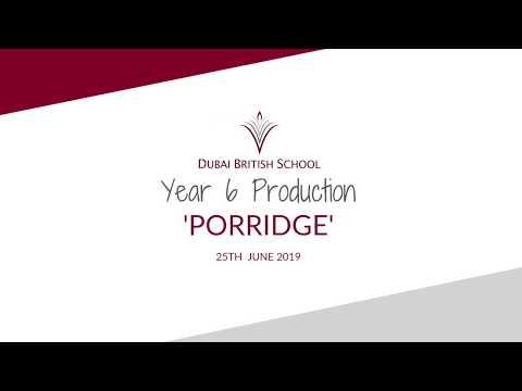 Year 6 Production Of 'Porridge' - June 2019