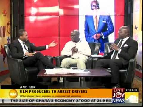 FILM PRODUCERS TO ARREST DRIVERS-AM TALK ON JOYNEWS (23-1-14)