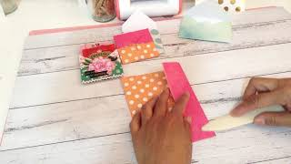 6x6 Paper - Double Pocket Fold with Quick and Easy TUTORIAL