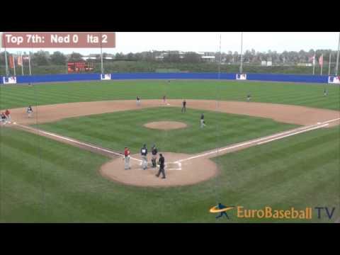 MLB Academy Hoofddorp 2014: Netherlands vs. Italy HIGHLIGHTS