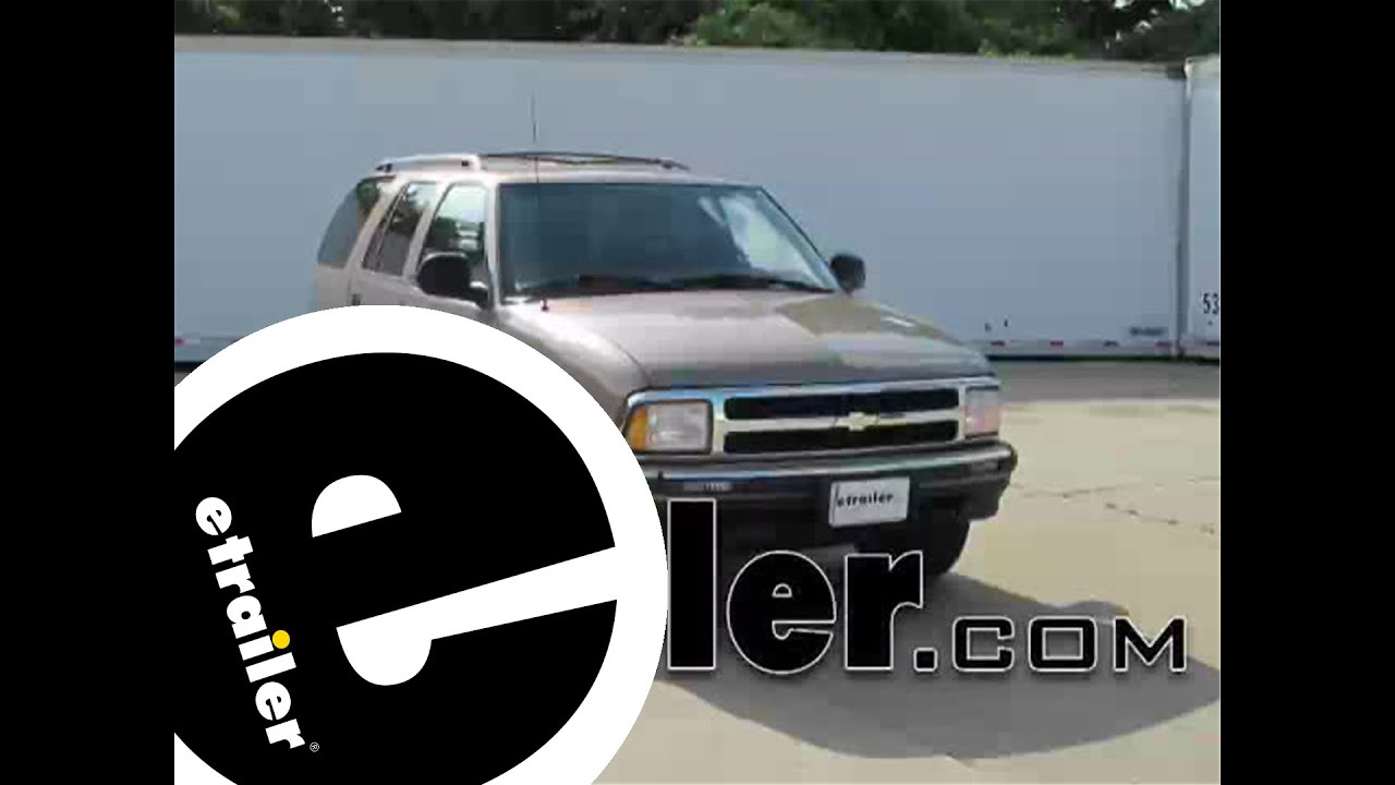 small resolution of install trailer wiring 1996 chevrolet blazer 18252 etrailer com
