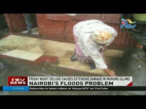 Friday night rain causes extensive damage in Mukuru slums