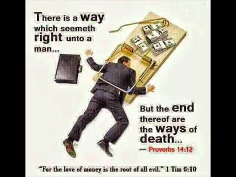 Image result for therer is a way that seemeth right, the end therein is destruction kjv