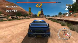 Sega Rally Online Arcade, Gameplay, Xbox 360