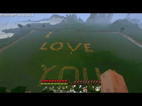 Minecraft Marriage Proposal