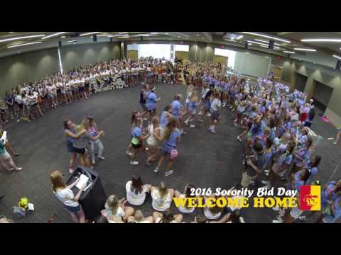 2016 Sorority Bid Day - Pittsburg State University (full pro