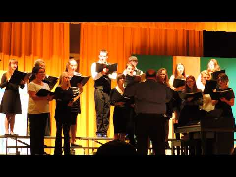Bledsoe County High School Choir-Who'll Be a Witness