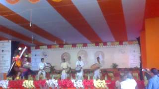 adivasi dance in Ramkrishna mela at Narendrapur Ramkrishna Mission