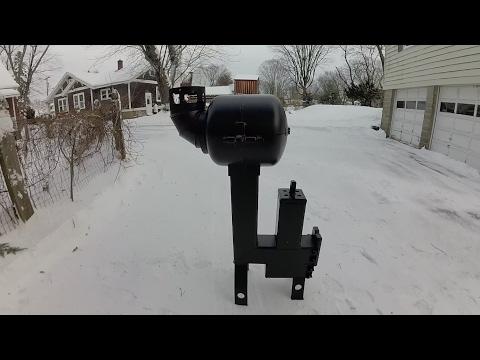 Diy gas bottle rocket stove backyard bbq grill