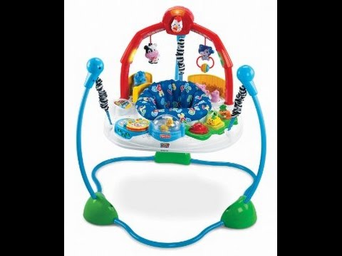 6d0f28f858a5 Unboxing   Assembly  Fisher-Price Laugh   Learn Jumperoo - YouTube
