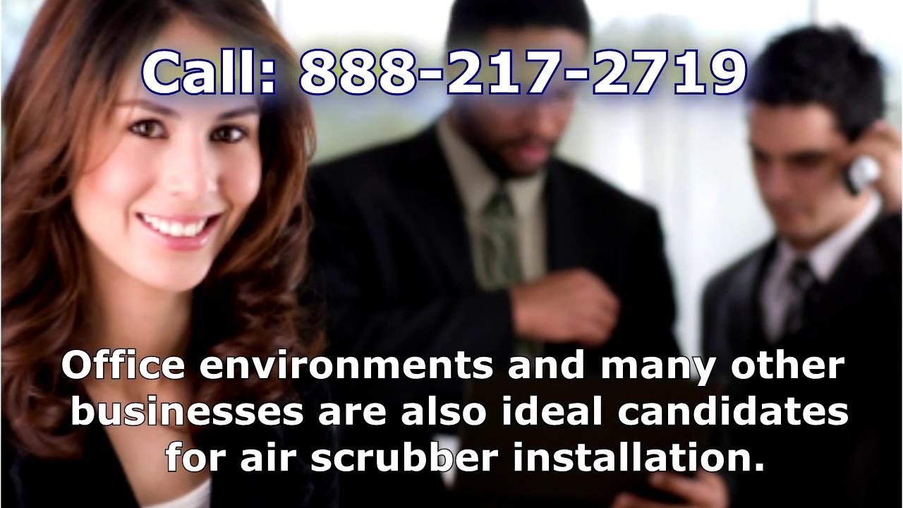 What is an air scrubber?