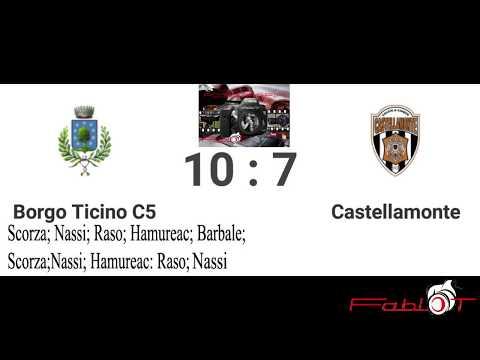 Calcio a 5 serie C1 BorgoTicino Vs Castellamonte 10-7