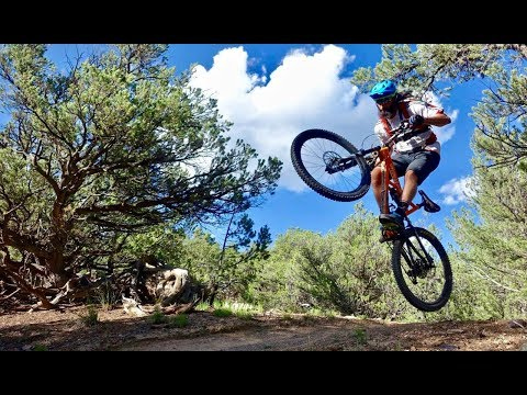 THERE WILL BE BLOOD | Shredding Salida, CO with Singletracks.com Chief Editor, Greg! | Part 2
