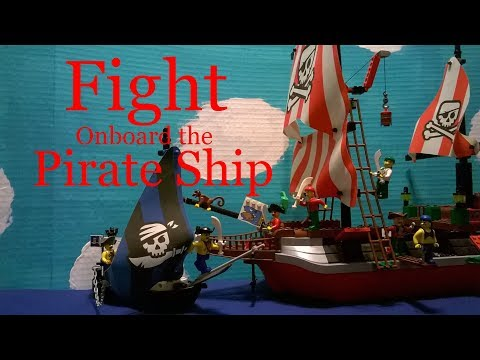 Lego Pirates: The Adventures of Captain Redbeard and the Pirates - Fight onboard the Pirate Ship