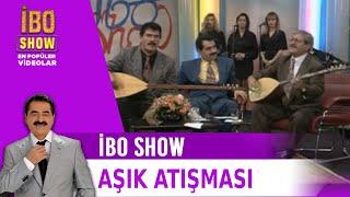 Aşık Mahsuni Şerif ile Murat Çobanoğlu'nun Atışması - İbo Show