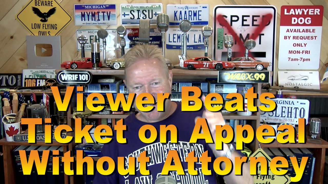 Download Viewer Beats Ticket on Appeal Without Attorney