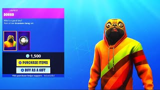 *NEW* DOGGO SKIN GIVEAWAY! (! Giveaway ! Member ! Social) | Fortnite Battle Royale