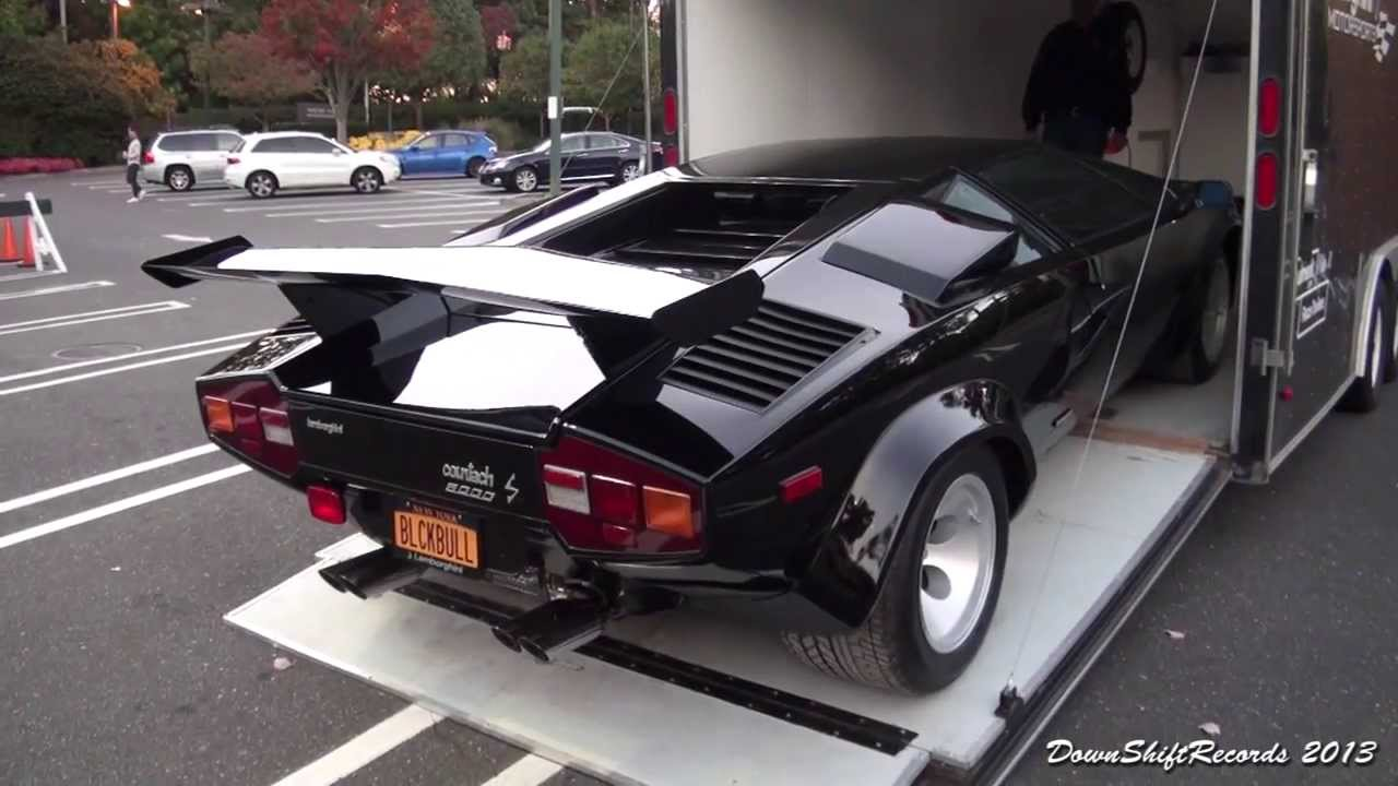 Unloading Lamborghini Countach Lp 500s Youtube