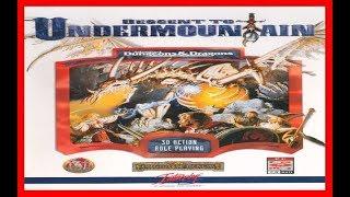 Descent to Undermountain 1997 PC