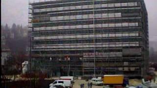 Baustelle des Neubaus der Dualen Hochschule BW in Heidenheim