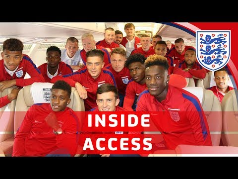 England U21s travel to Poland for the Euros   Inside Access