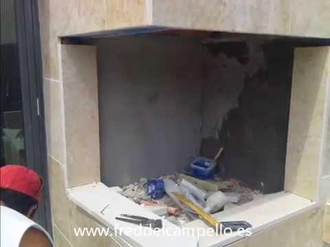 Barbacoa de obra estilo argentino de dise o youtube - Fotos de barbacoas de obra ...