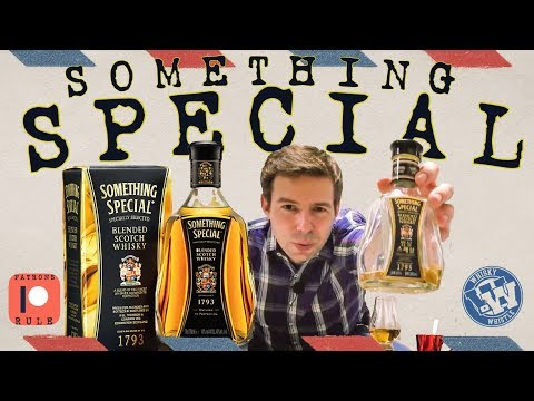 Whisky Review 66: Something Special Blended Scotch Whisky