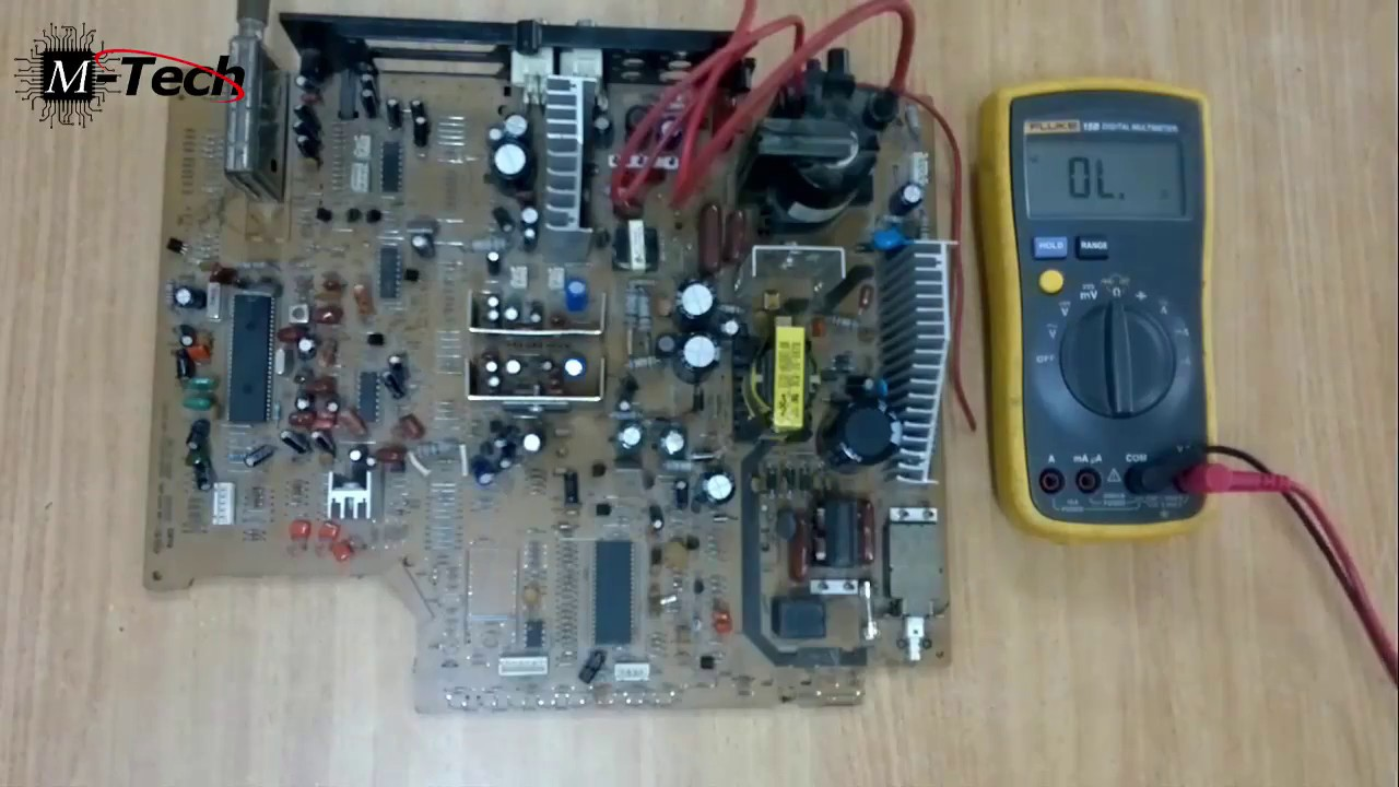 switch mode power supply SMPS repair course lecture #8 part 5 Bridge ...