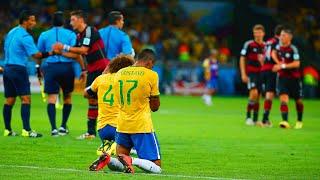 مباراة البرازيل و المانيا 7 -1 نصف نهائى كاس العالم 2014 حفيظ دراجي