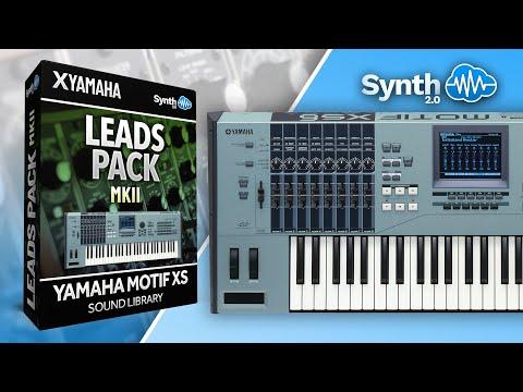 Motif XS / XF / Rack : LDX124 - Leads Pack MKII - Yamaha Motif XS
