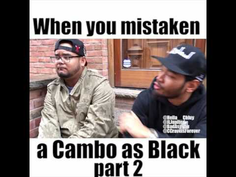 When you're mistaken as a black guy pt 2 (skit)