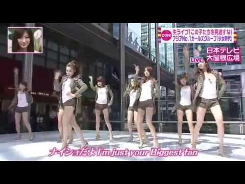 GENIE Japanese live SNSD