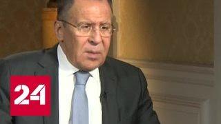 Лавров пошутил о встрече Путина с Трампом