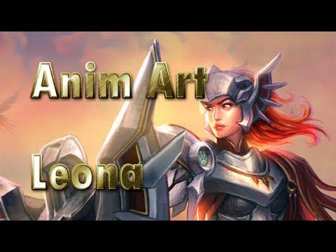 Animated Art - Iron Solari Leona