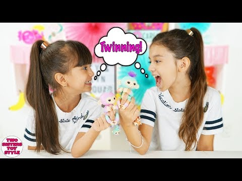 TWIN TELEPATHY CHALLENGE with the NEW Fingerlings BFF Collection