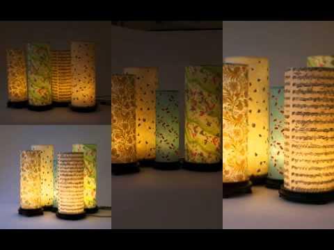 Beautiful Handmade Lamps