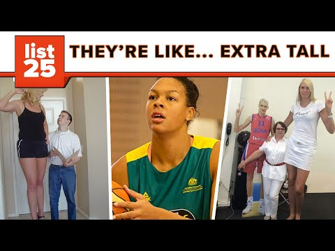 TALLEST WOMAN ALIVE !!! from YouTube · Duration:  51 seconds