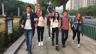 Changzhou. Students from Kazakhstan 🇰🇿 (just for fun) . Студенты с Казахстана в городе Чанчжоу