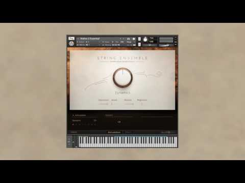 SYMPHONY ESSENTIALS - STRING ENSEMBLE playthrough | Native Instruments
