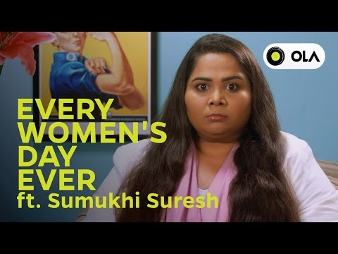 Thumbnail: Every Women's Day Ever ft. Sumukhi Suresh
